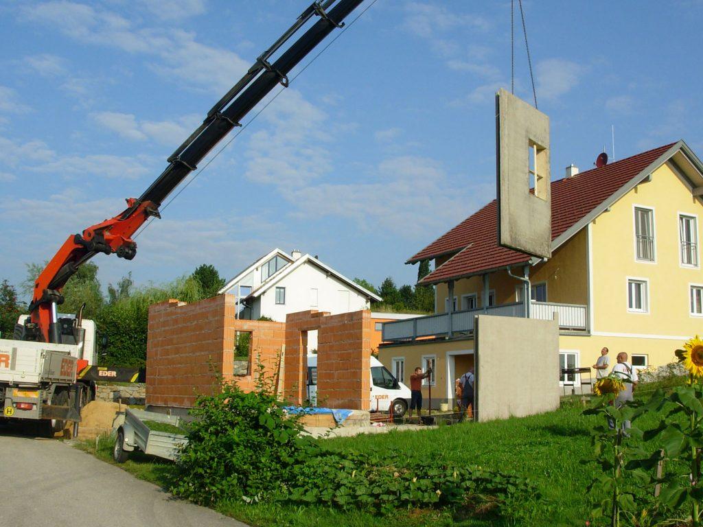 Zubauten, Umbauten, Anbauten, Ausbauten, Innviertel, Ried im Innkreis, OÖ