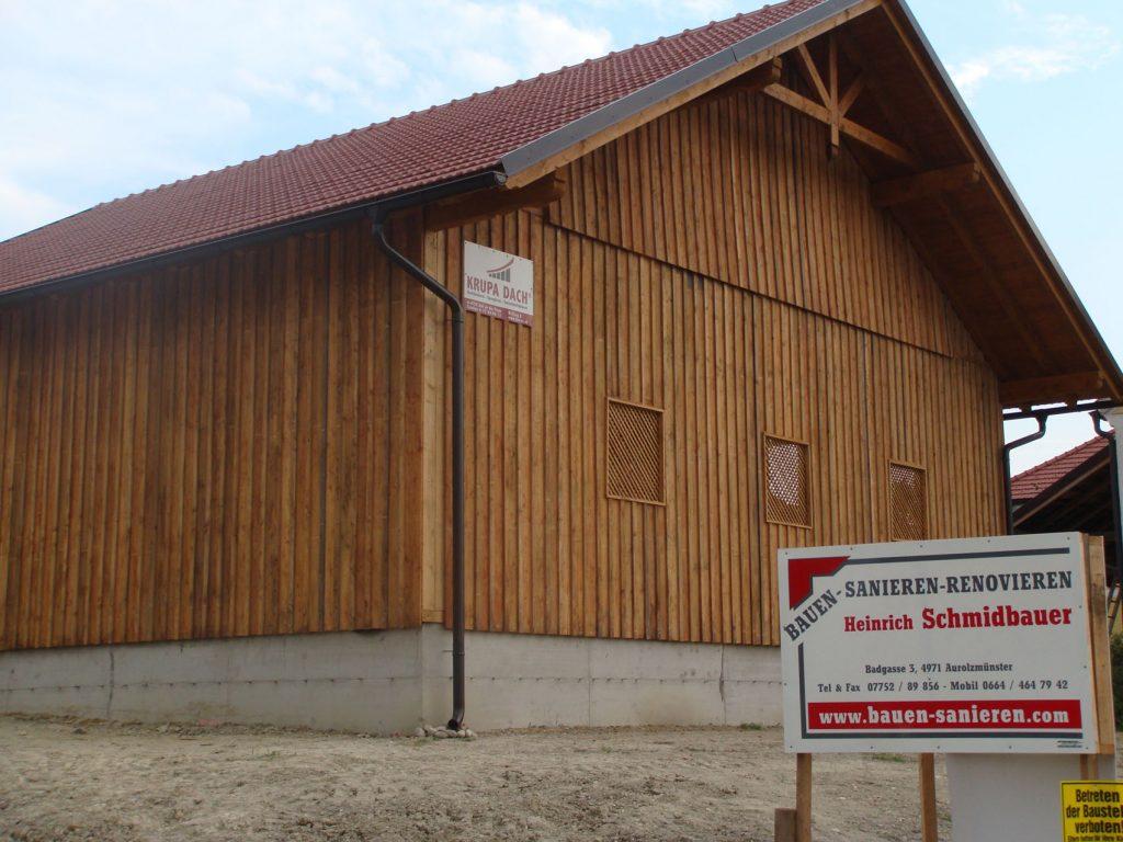 LANDWIRTSCHAFTLICHE GEBÄUDE, Bauernhof, Scheunen, Stallungen, Innviertel, Oberösterreich